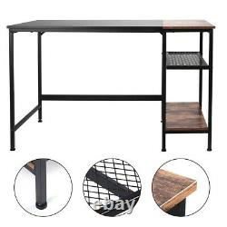 120CM Home Office Computer PC Desk Table Writing Study Workstation with Shelves