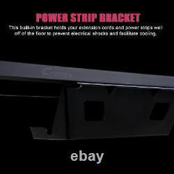 1.4m Racing Gaming Desk Z Shaped Gaming Table Home Office PC Study Writing Desk