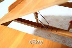3Size of Multi Purpose Folding Bamboo Table, Laptop Computer Desk Camping Stand