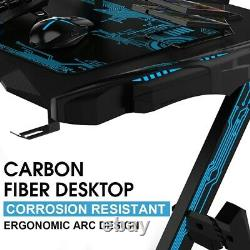 43.3Game Table Professional Internet Cafe Game Chair Computer Table With Audio
