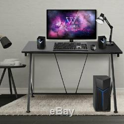 Computer Desk Gaming Racing Table Workstation Study Home Office