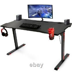 Computer Desk Home Office Study Game PC Writing Table Workstation DIY Furniture