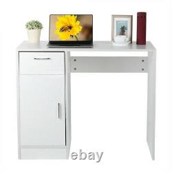 Computer Desk Laptop PC Home Study Gaming Table With Storage Workstation Office