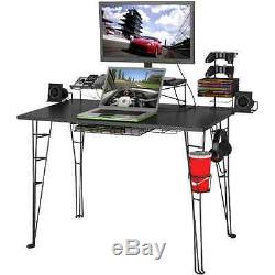 Computer Desk Laptop Table Office Furniture PC Gaming Workstation Bedroom Table