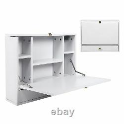 Computer Desk Wall-Mounted Foldable Laptop Desk Writing Table Household