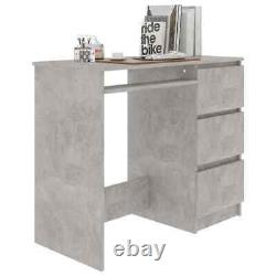 Computer Desk Workstation Home Office Study Desk Chipboard Table with Drawers
