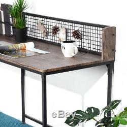 Computer Office Corner Desk L-Shaped PC Workstation for Home Office Stable Table