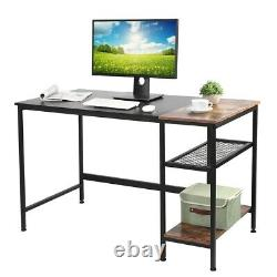 Corner Computer Desk Home Study Office Gaming Workspace Compact PC Laptop Table