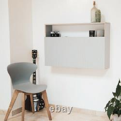 Frovi Home Working Folding Wall fixed Box Desk/Table with Storage Free P&P
