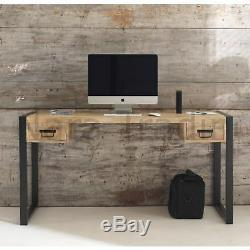 Harbour Indian Reclaimed Wood Furniture Computer PC Office Laptop Desk