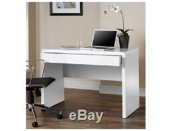 Home Laptop Desk Basic With Drawer Computer Table Office Classic Study Modern