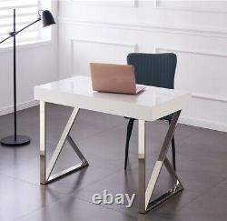 Home Office Computer Desk PC Laptop Study Table Workstation with Shelf and Drawer