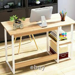 Home Office Computer Desk Table Study PC Laptop Writing Gaming Desk Workstation