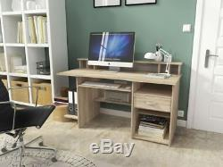 Home office furniture computer desk workstation study table PC drawer keyboard