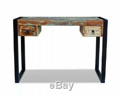 Industrial Computer Desk Office Vintage Retro Furniture Sideboard Console Table