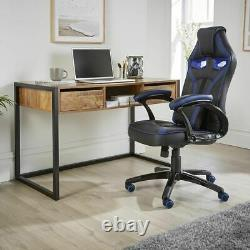 Industrial Style Desk Computer Laptop Desktop Writing Table Console Office Study