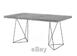 Industrial Style Desk Vintage Retro Design PC Computer Table Office Furniture