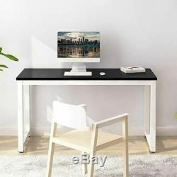 Large Computer Desk Office Study PC Writing Gaming Desk Workstation Dining Table