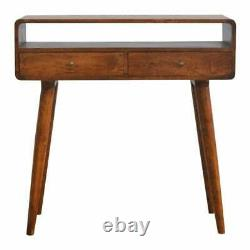 Mid Century Console Table Scandinavian Style Modern Dressing Writing Computer