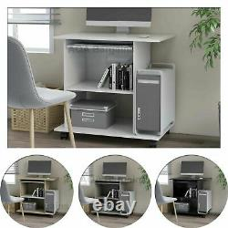 Modern Small Compact Laptop Computer Office Writing Table Desk Workstation
