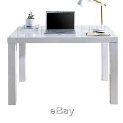 NEW White High Gloss Dressing Table Computer Desk Office Vanity Console Home UK