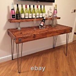 Office Desk Writing Desk PC Table Home Office Reclaimed Wood Rustic