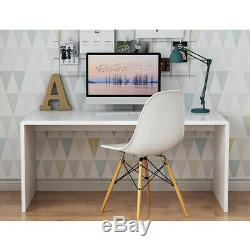 PC Computer Desk High Gloss Top Hallway Dressing Table Home Office Furniture NEW