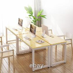 PC Computer Desk Writing Study Gaming Table Office Home Workstation Wood & Metal