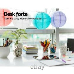 Rotating Corner Computer Desk L-shaped PC Table Workstation Home Office Study