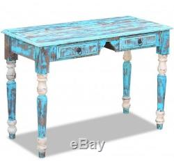 Shabby Chic Writing Desk Antique French Table Vintage Office Computer Furniture