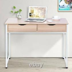 Simple Computer Desk PC Table Writing Study Table Office Home Workstation 100 cm
