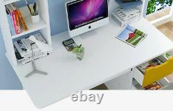 Small Computer Desk PC Laptop Table Home Study Office Workstation Corner 110CM