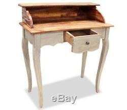 Small Office Writing Desk Vintage Antique Table PC Computer Wooden Workstation