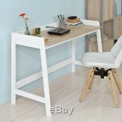SoBuy Wood Home Office Table PC Computer Writing Desk Workstation, FWT41-WN, UK