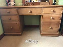 Solid Pine Computer Desk/ Dressing Table