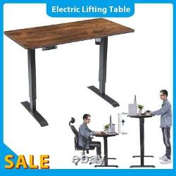 Standing Laptop Height Adjustable Desk Table Lifting Home Office Workstation