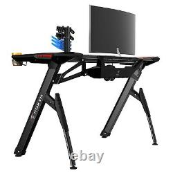 TITAN STX PRO RGB Gaming Desk Home Office PC Study Writing Home Computer Table