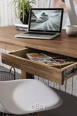 Vermont Office Desk Writing Computer Table in Oak