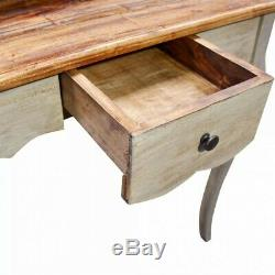 Vintage Writing Desk Computer Study Table Office Small Antique Wood Furniture