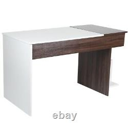 Wooden Large Computer Desk PC Laptop Table Home Office Study Workstation Gaming