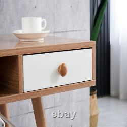 Wooden Writing Desk Computer Table Home Office PC Laptop Workstation Storage