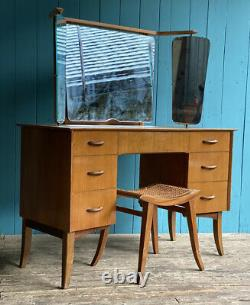 Wrighton Walnut Desk Dressing Table MID CENTURY DRAWERS Sideboard DELIVERY