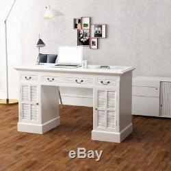 Writing Laptop Computer Dressing Desk Console Table with Drawers Home Office Hot