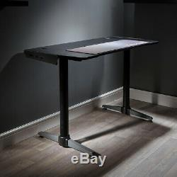 X Rocker Panther Gaming Home Office Desk Computer Table FREE MOUSEMAT INCLUDED